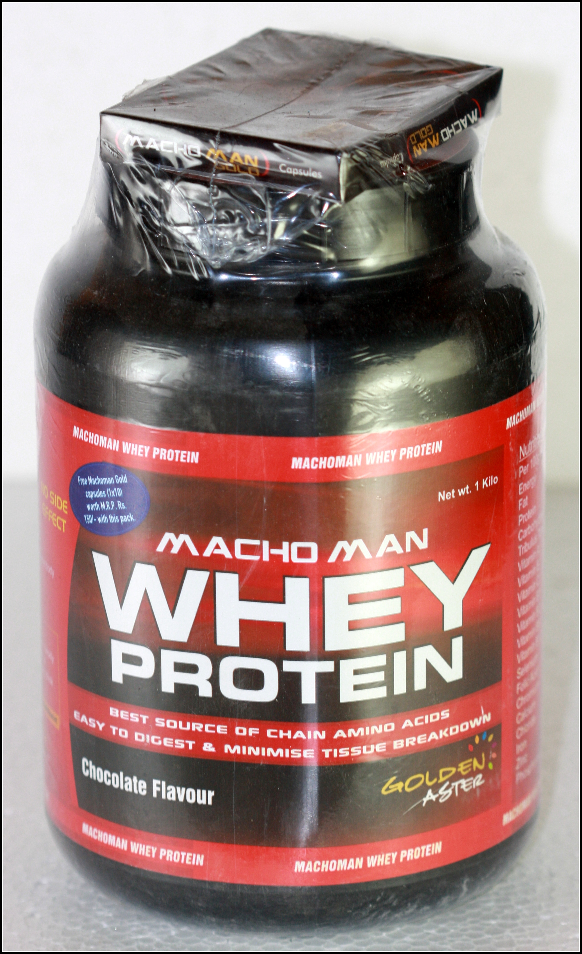 MACHO MAN WHEY PROTEIN
