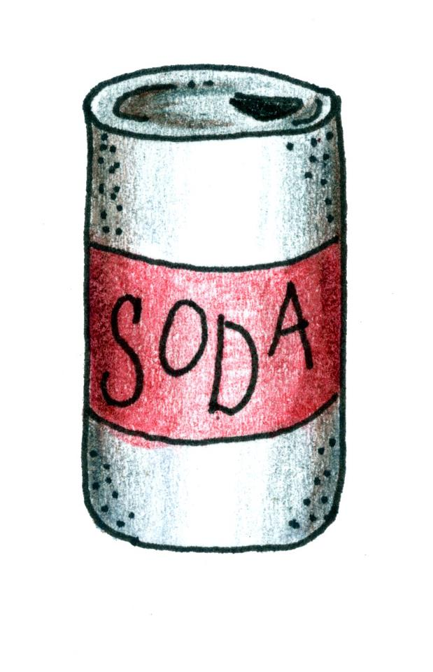 Ever wondered why soda gets so many hands down??
