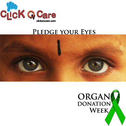 Eyes: See through them when you Can't-Pledge TODAY!!