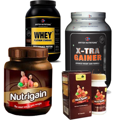 suppliments for weight gain