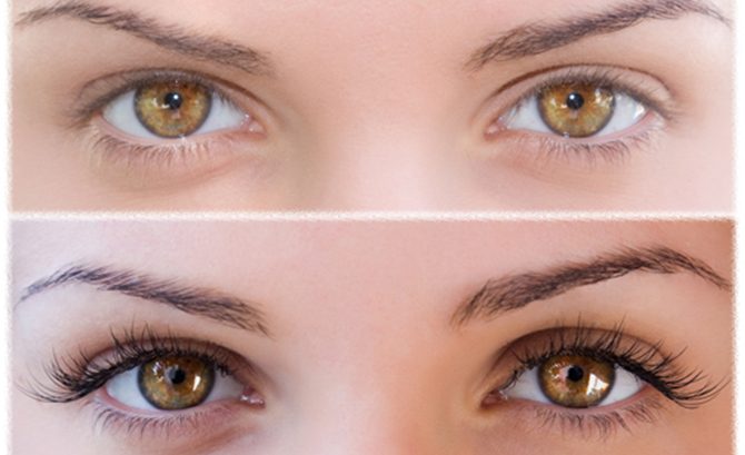 achieving long and lustrous eye lashes
