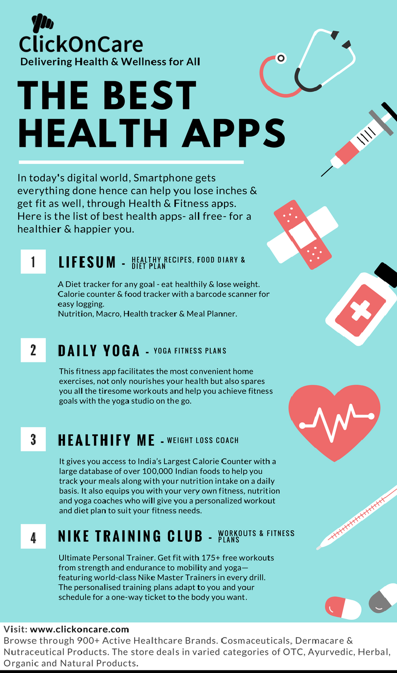 The Best Health Mobile Apps   BLOG